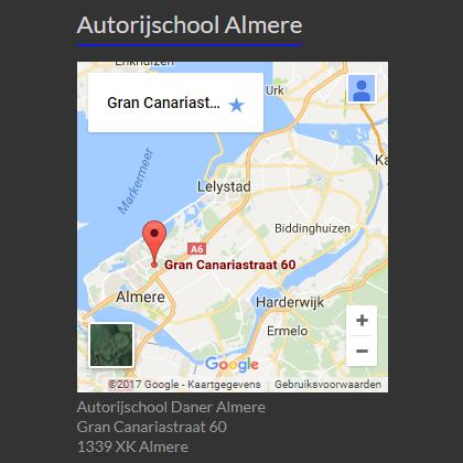 Rijles in Almere