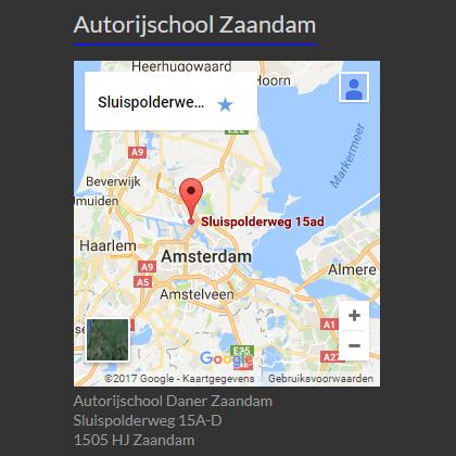 Rijschool Zaandam
